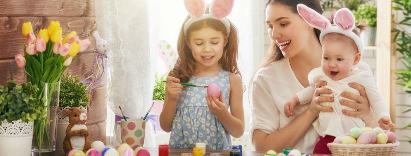 Decorazioni casa per Pasqua